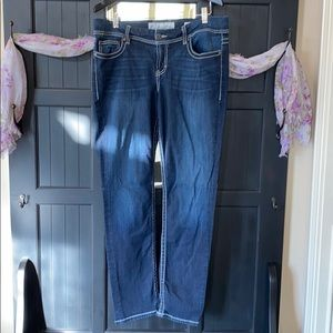 """BKE """"Dakota"""" Dark Wash Skinny Jean"""